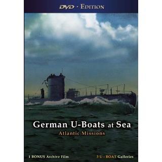German U-Boats at Sea [DVD]